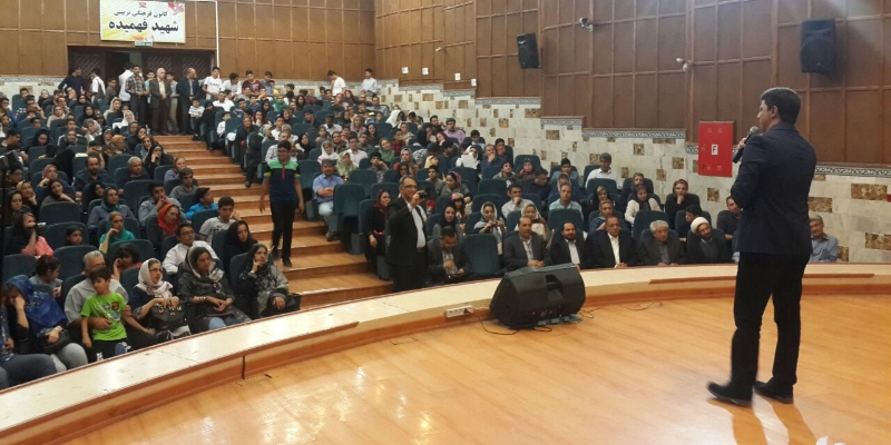 اجرای زنده در کانون شهید فهمیده